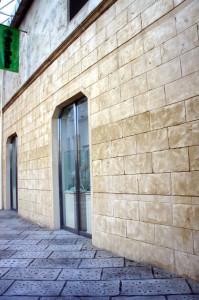 壁面モルタル造形